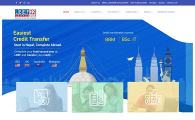 lbef.org screenshot