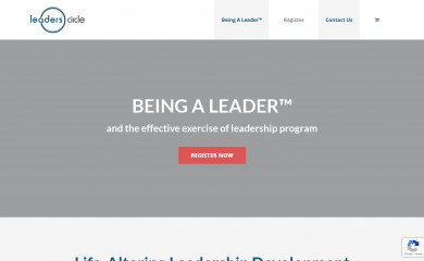 leaderscircle.com screenshot