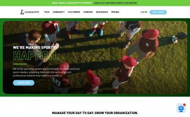 leagueapps.com screenshot
