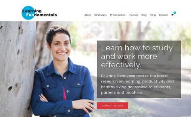 learningfundamentals.com.au screenshot
