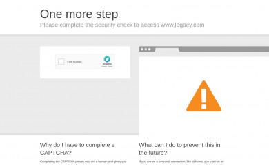 legacy.com screenshot