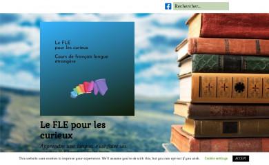http://leflepourlescurieux.fr screenshot
