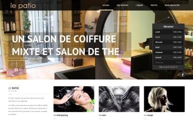 lepatio-coiffure.fr screenshot