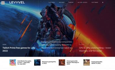levvvel.com screenshot