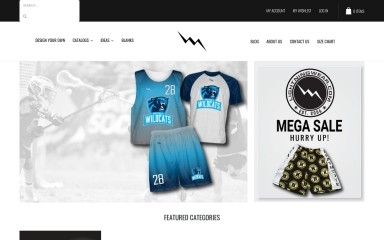 http://lightningwear.com screenshot