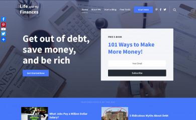 lifeandmyfinances.com screenshot