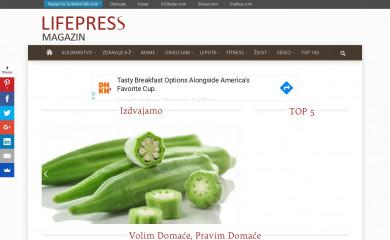 http://lifepressmagazin.com screenshot