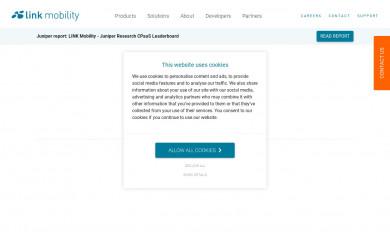 http://linkmobility.com screenshot