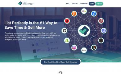 listperfectly.com screenshot