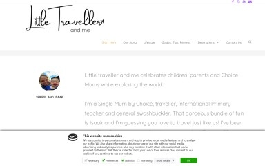 http://littletravellerandme.com screenshot
