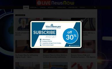 livenewsnow.com screenshot