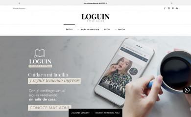 loguin.com.co screenshot