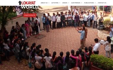 lokayat.org.in screenshot