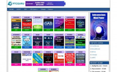 ptcguru.com screenshot
