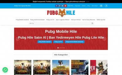 pubghile.org screenshot