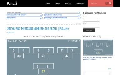 puzzles9.com screenshot