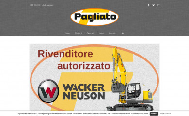 http://pagliato.it screenshot