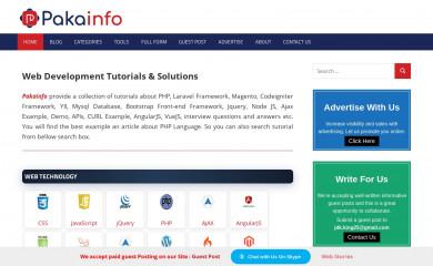 pakainfo.com screenshot