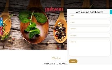 pakwan-restaurants.com screenshot