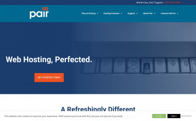 pair.com screenshot