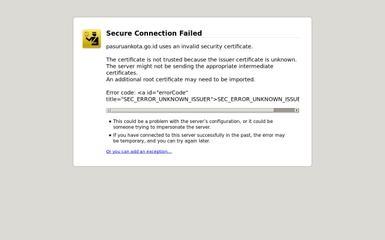 http://pasuruankota.go.id screenshot