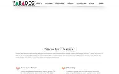paradoxalarms.com screenshot