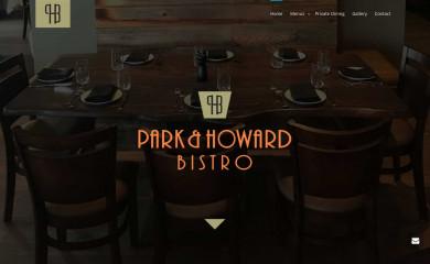 parkhowardbistro.com screenshot