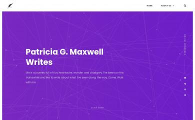 patriciagmaxwell.com screenshot