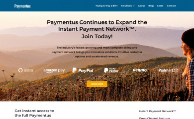 paymentus.com screenshot
