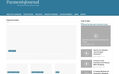 http://paymentsjournal.com screenshot