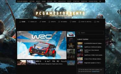 pcgamestorrents.com screenshot