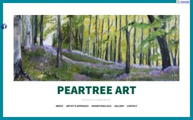 peartreeart.com screenshot