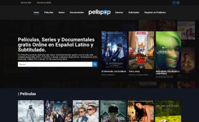 pelispop.com screenshot
