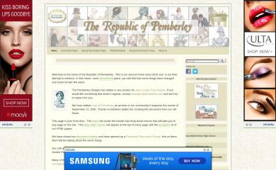 pemberley.com screenshot