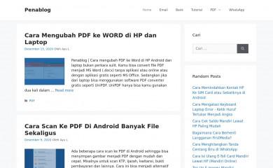 http://penablog.com screenshot