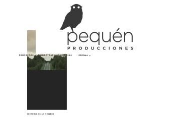 http://pequenproducciones.cl screenshot