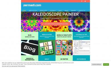 http://permadi.com screenshot