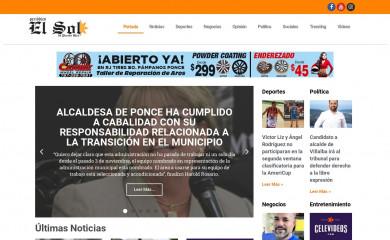 periodicoelsolpr.com screenshot