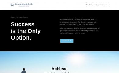 personalgrowthevents.com.au screenshot