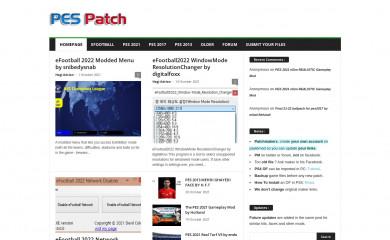pes-patch.com screenshot