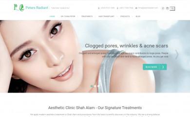 petersradiant.com screenshot