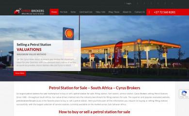 petrolstationsforsale.co.za screenshot