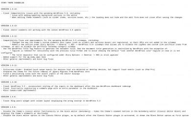 http://pexetothemes.com/docs/changelog/story/changelog.txt screenshot