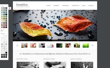 Dandelion screenshot
