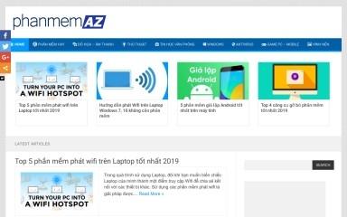 http://phanmemaz.net screenshot