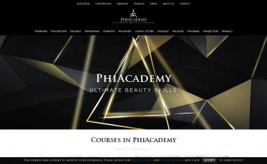 phi-academy.com screenshot