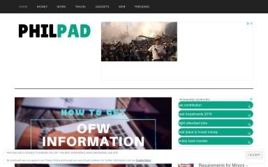 http://philpad.com screenshot
