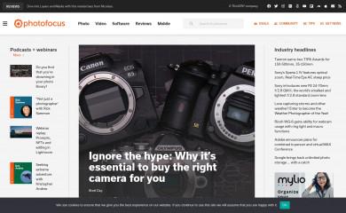 photofocus.com screenshot