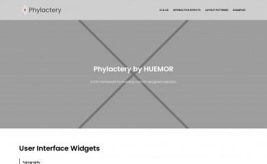 http://phylactery.huemortest.com screenshot