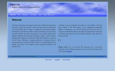 http://pigeons.biz screenshot